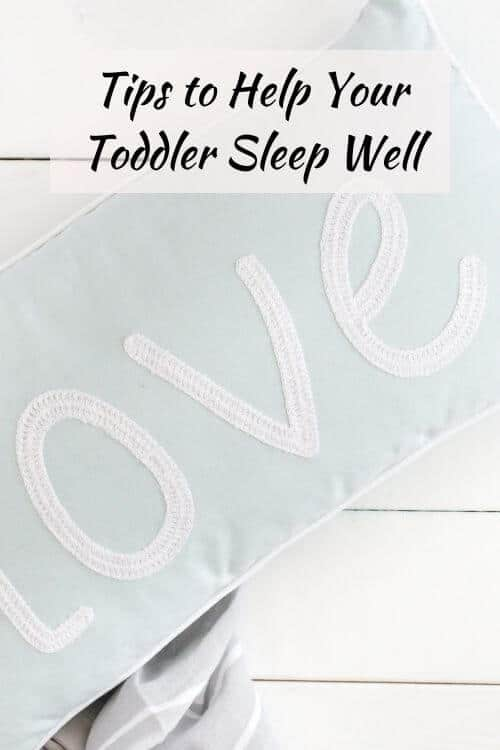 Toddler not sleeping through the night