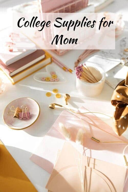 college supplies for mom students in college