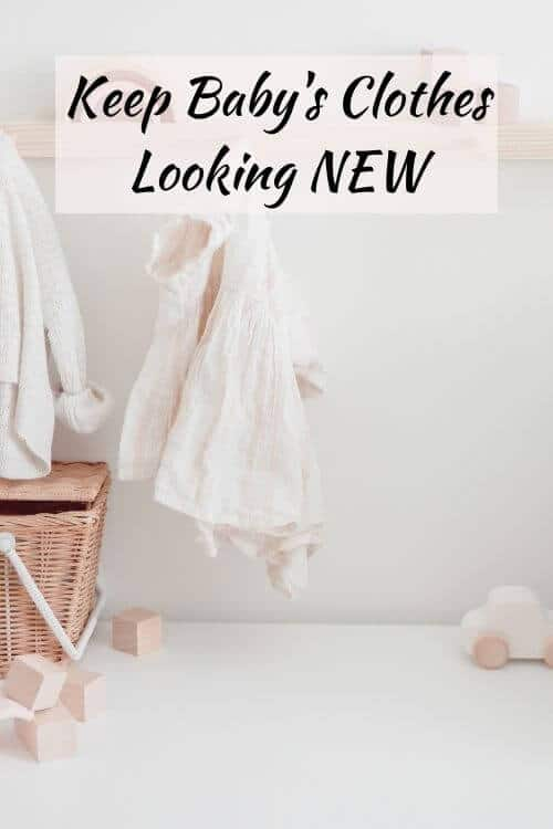 how to get poop stains out of baby clothes