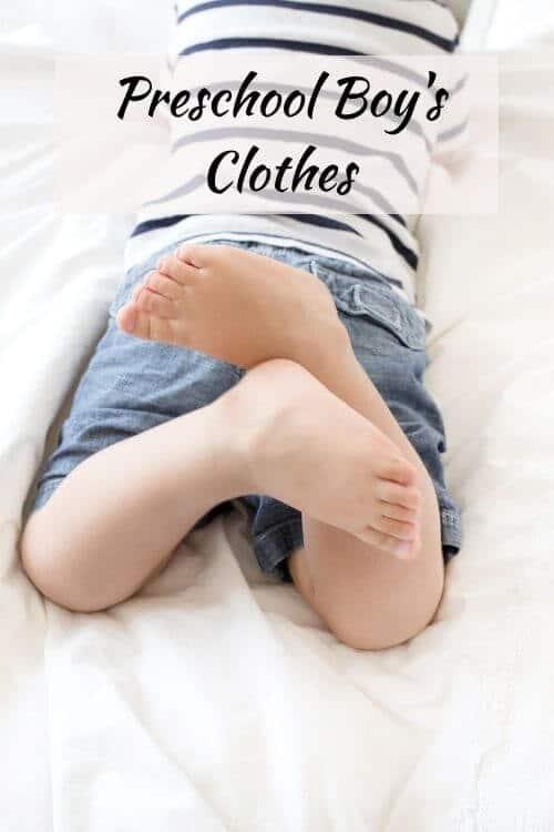 Toddler capsule wardrobe