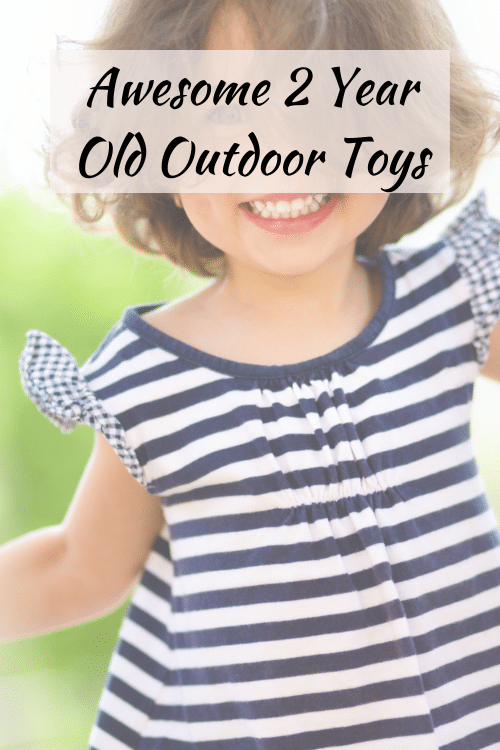 2 year old outdoor toys